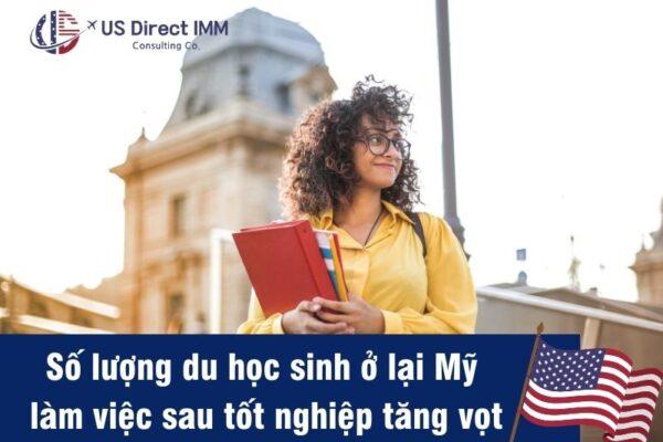 Lấy thẻ xanh Mỹ dành cho du học sinh